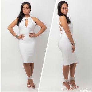 Marlowe Halter White Dress